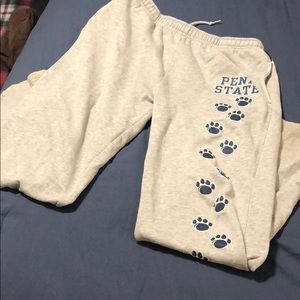 Penn state sweat pants